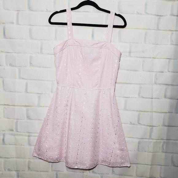 1c7682a163131 Pink floral Easter dress